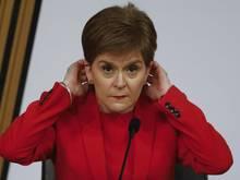 Nicola Sturgeon, Premierministerin von Schottland und Chefin der Nationalpartei SNP.