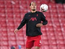 Liverpool-Trainer Klopp rechnet nicht mit einer EM-Teilnahme von Virgil van Dijk