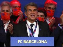 Joan Laporta ist neuer Präsident des FC Barcelona
