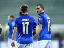 Viele italienische Nationalspieler wurden positiv auf Corona getestet