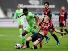 Zeigte bei der Wolfsburger Niederlage in Frankfurt einen starken Auftritt: RidleBaku (l)