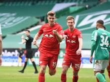 RB Leipzig setzt sich gegen Werder Bremen durch