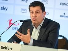Christian Seifert ist Geschäftsführer der DFL GmbH und Sprecher des Präsidiums des DFL e.V