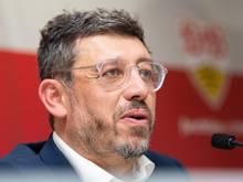 Claus Vogt, Präsident des VfB Stuttgart, hadert mit der geplanten Reform der Champions League