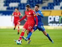 Leverkusens Florian Wirtz könnte gegen den FC Bayern ausfallen