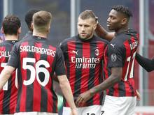 Milan setzte sich gegen Genua durch