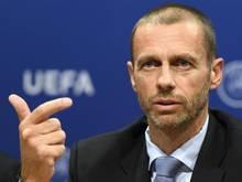 UEFA-Präsident Aleksandar Ceferin