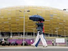 Das Finale der Europa League findet im Stadon in Gdansk mit Zuschauern statt