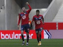 OSC Lille setzt PSG in der Ligue 1 unter Druck