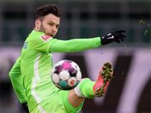 Der Wolfsburger Renato Steffen verletzte sich am Sprunggelenk