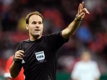 Antonio Miguel Mateu Lahoz pfeift das Finale der Champions League