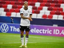 Hat nach der EM die A-Nationalmannschaft als Ziel: Lukas Nmecha