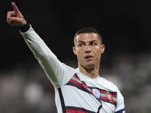 Bei der Mannschaft von Superstar Cristiano Ronaldo sind alle Corona-Tests negativ ausgefallen