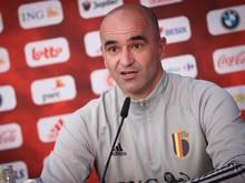 Belgiens Cheftrainer Roberto Martínez