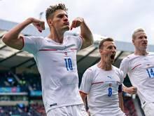 Patrik Schick erzielte das Tor für Tschechien