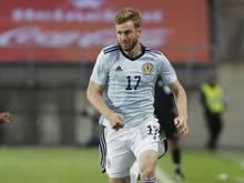 Freut sich auf das entscheidende Spiel gegen Kroaiten: Schottlands Stuart Armstrong