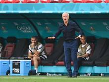 Der französische Trainer Didier Deschamps kann dem Remis gegen Ungarn etwas Positives abgewinnen