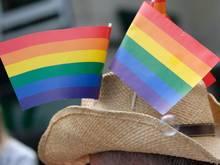 Zum Spiel im Münchner EM-Stadion sollen 10.000 Regenbogen-Fahnen verteilt werden