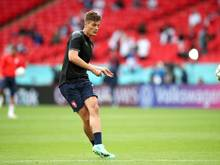 Leverkusens Patrik Schick erzielte bei der EM für Tschechien bereits drei Tore