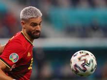 """Meint, dass sich die Gegner auch vor den """"Red Devils"""" fürchten: Belgiens Yannick Carrasco"""