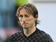 Hat seine Teilnahme an der Weltmeisterschaft 2022 in Katar offengelassen: Luka Modric