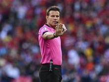Wurde für seine Spielleitung beim EM-Halbfinale zwischen Italien und Spanien gelobt: Schiedsrichter Felix Brych