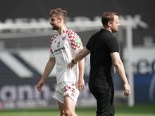 Alexander Hack (l.) spielt bereits seit 2014 bei den Mainzern