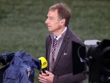 Ließ keinen Zweifel, zu wem er im EM-Finale hält:Jürgen Klinsmann