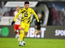 Jadon Sancho wechselte vom BVBzu Manchester United