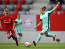 Katharina Naschenweng (r) erzielte Hoffenheims zwischenzeitlichen Ausgleich. (Archivbild)