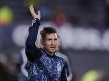 Lionel Messi mit einem weiteren Meilenstein
