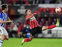 Mario Götze erzielte ein Tor für Eindhoven