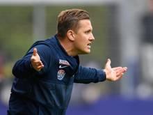 Erzgebirge Aue hat sich von Trainer Aliaksei Shpileuski getrennt