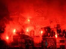 Beim Spiel von Angers SCO gegen Olympique Marseille hatte es Ausschreitungen gegeben