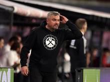 Bochums Trainer Thomas Reis gewann mit seinem Team gegen Nijmegen