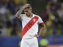 Wird Peru beim Spiel in Bolivien fehlen: Paolo Guerrero