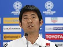 Japans Nationaltrainer Hajime Moriyasu