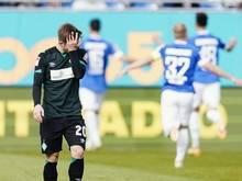 Gegen den SV Darmstadt 98 kassierte Werder Bremen eine 0:3-Niederlage