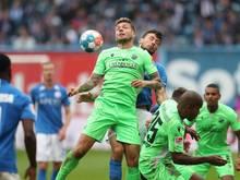 Fans von Hansa Rostock sorgten beim Spiel gegen den SV Sandhausen mit einem Banner für Empörung