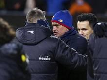 José Mourinho geriet nach dem Spiel in Erklärungsnot