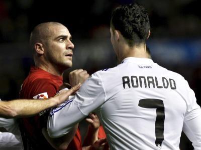 Walter Pandiani legte sich auch schon mal mit Real Madrids Superstar Cristiano Ronaldo an