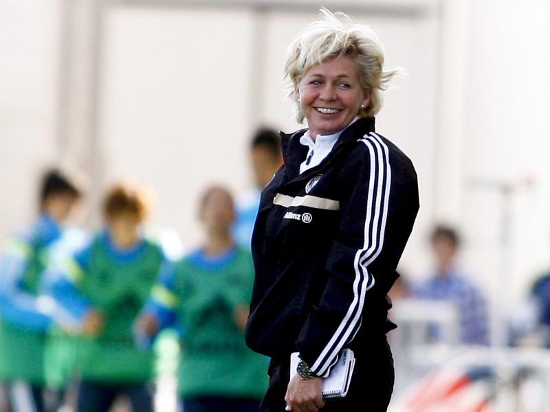 Silvia Neid warnt vor der irischen Mannschaft