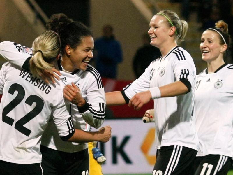 Die deutschen Frauen sind in der WM-Qualifikation nicht aufzuhalten