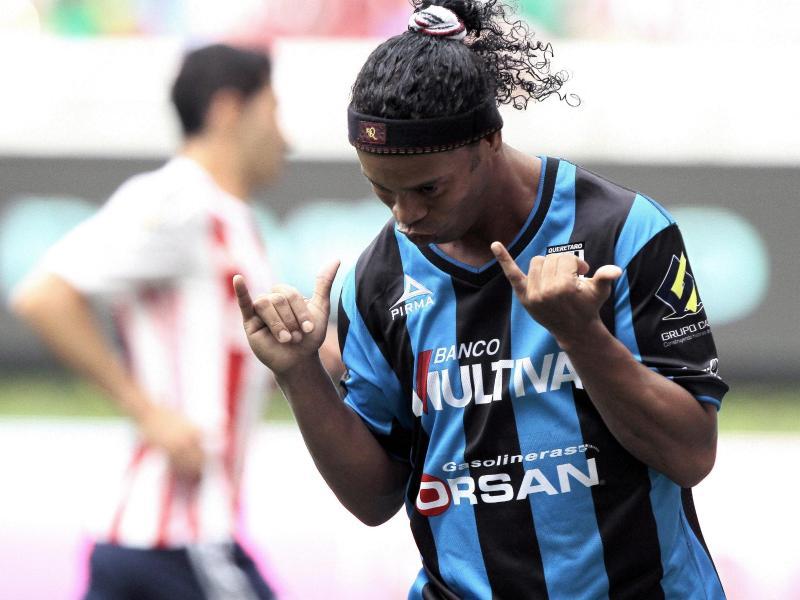 Ronaldinho war tagelang verschollen. Foto: Ulises Ruiz Basurto