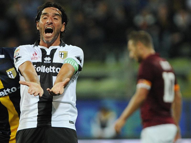 Parma-Kapitän Alessandro Lucarelli will mit seinen Mitspielern streiken