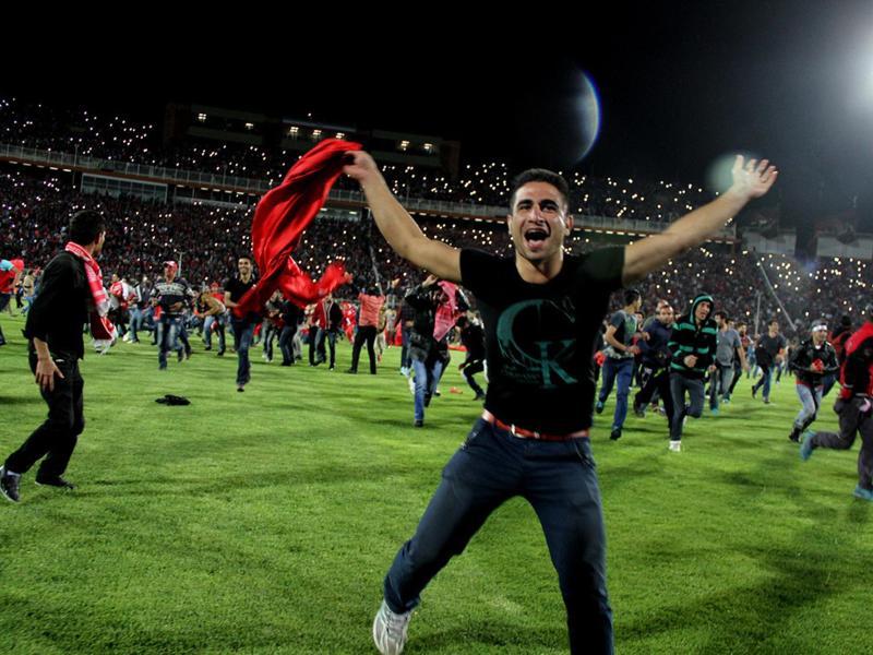 Die Fans des iranischen Klubs Tractor Sazi feierten die Meisterschaft, das war allerdings ein Irrtum