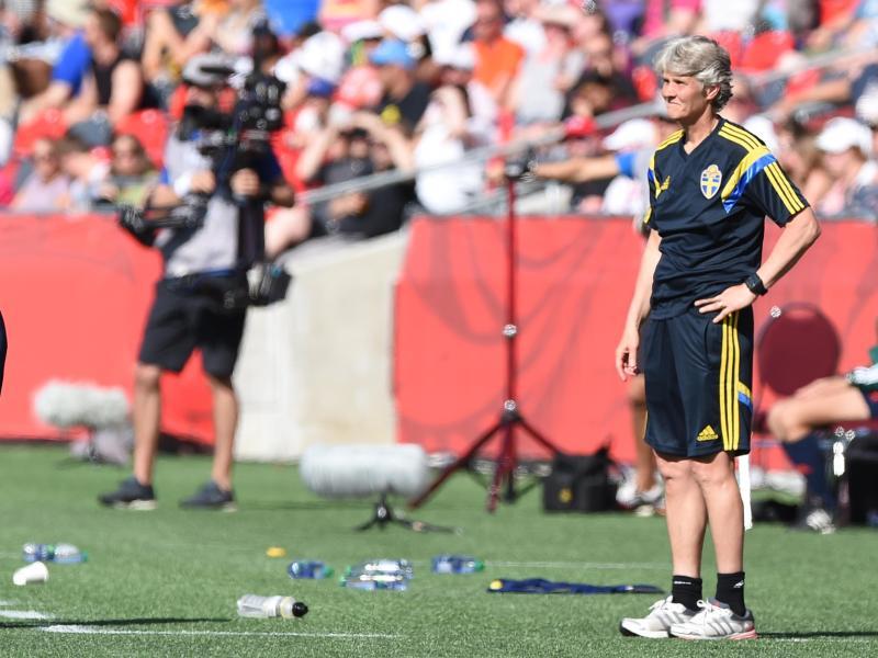 Pia Sundhage soll weiter als schwedische Nationaltrainerin arbeiten. Foto: Carmen Jaspersen