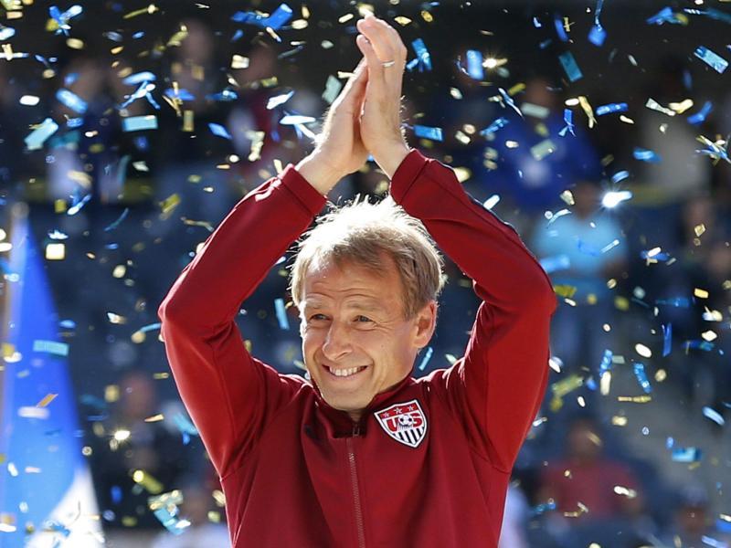 US-Coach Jürgen Klinsmann trifft mit seinem Team auf Kuba