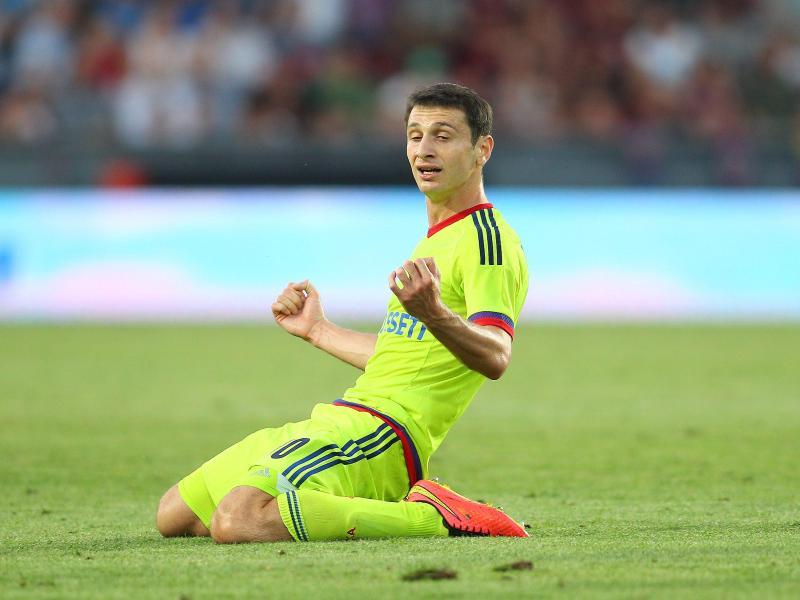 Alan Dzagoew hat für Moskau den Treffer zum 3:2 erzielt.