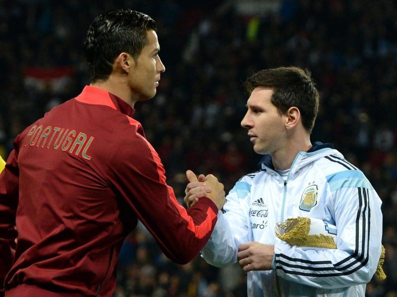 Ronaldo und Lionel Messi konkurrieren wieder einmal um eine Auszeichnung